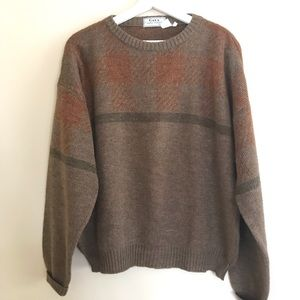 Vtg Wool Blend Sweater Made in Italy